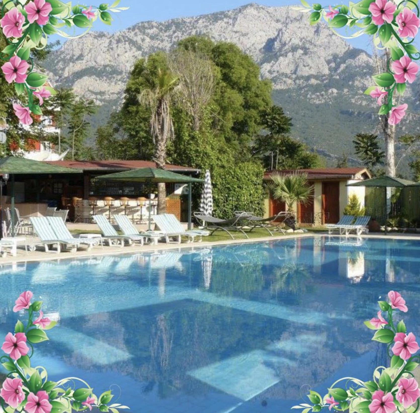 Dieses zauberhafte Hotel Erendiz Garten Hotel befindet sich in Kemer. Foto: Ellen Erendiz